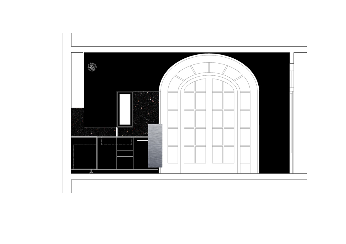 reforma_cocina_cuina_barcelona_gracia_galeria_art_arte_kitchen_renovation_refurbishment_negra_black_proyecto_projecte_interiorismo_interiorisme_pinterest_plano_planol_plan_1