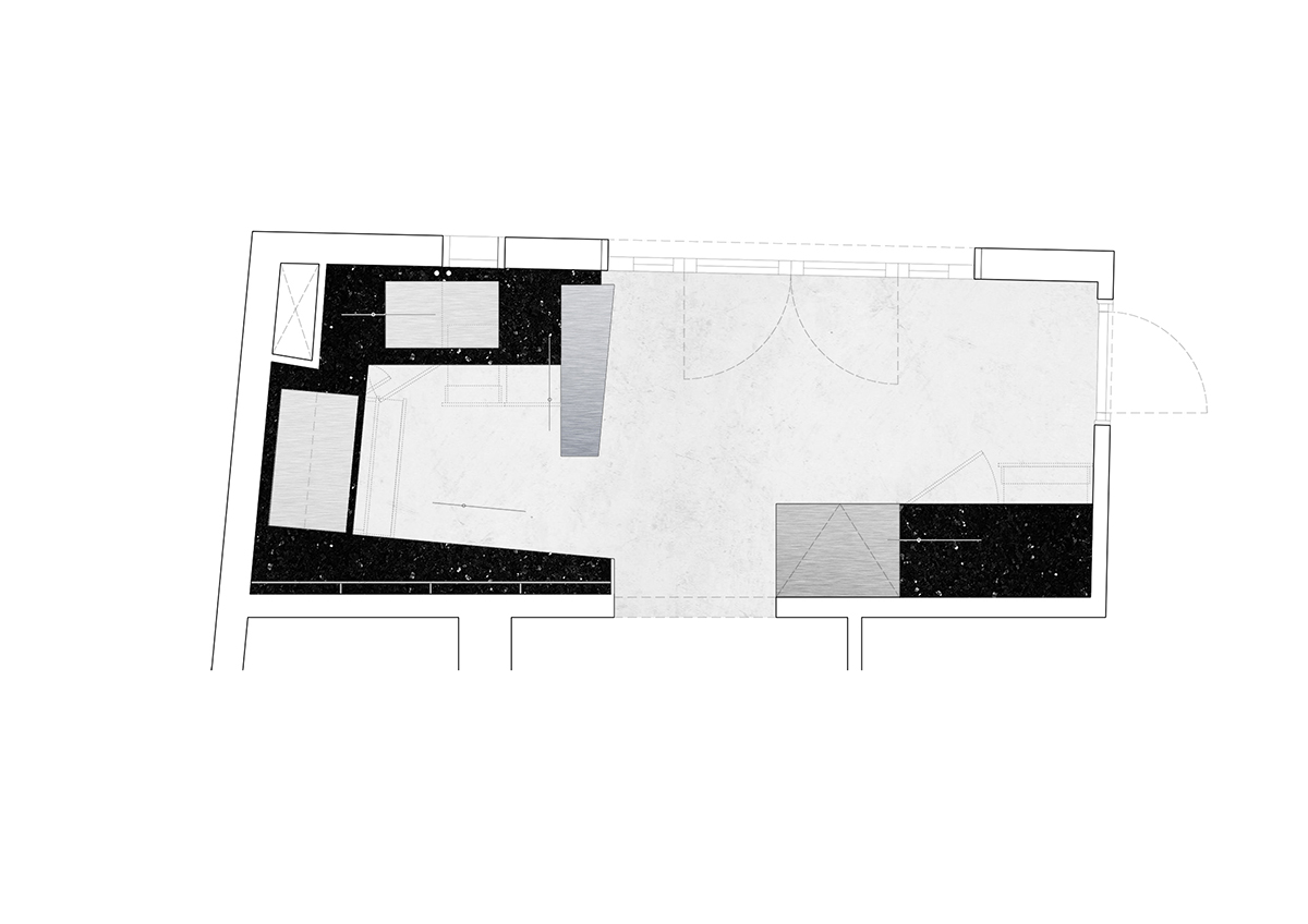 reforma_cocina_cuina_barcelona_gracia_galeria_art_arte_kitchen_renovation_refurbishment_negra_black_proyecto_projecte_interiorismo_interiorisme_pinterest_plano_planol_plan