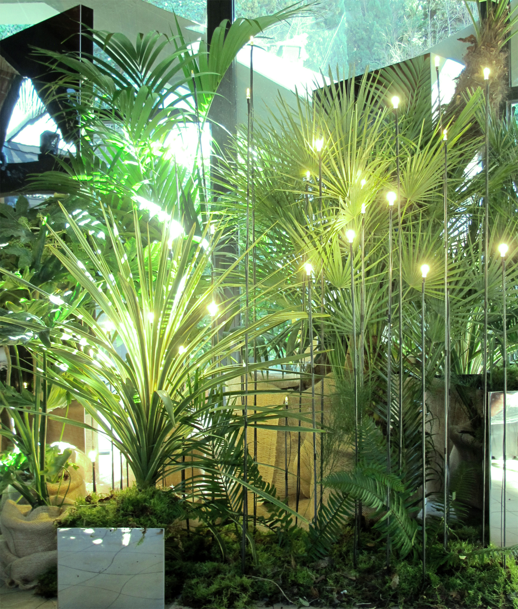 Google World Mobile Congress MTTR London h3o event plants naturescape barcelona ephemeral intervention