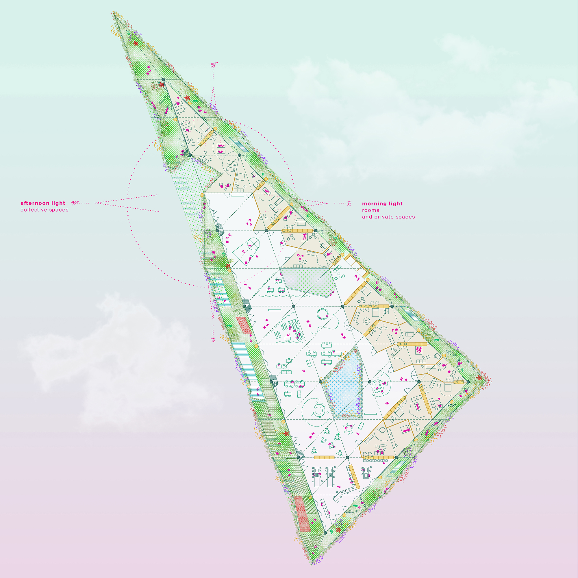 h3o hybrid parliament europan 15 rotterdam first prize inclusive architecture