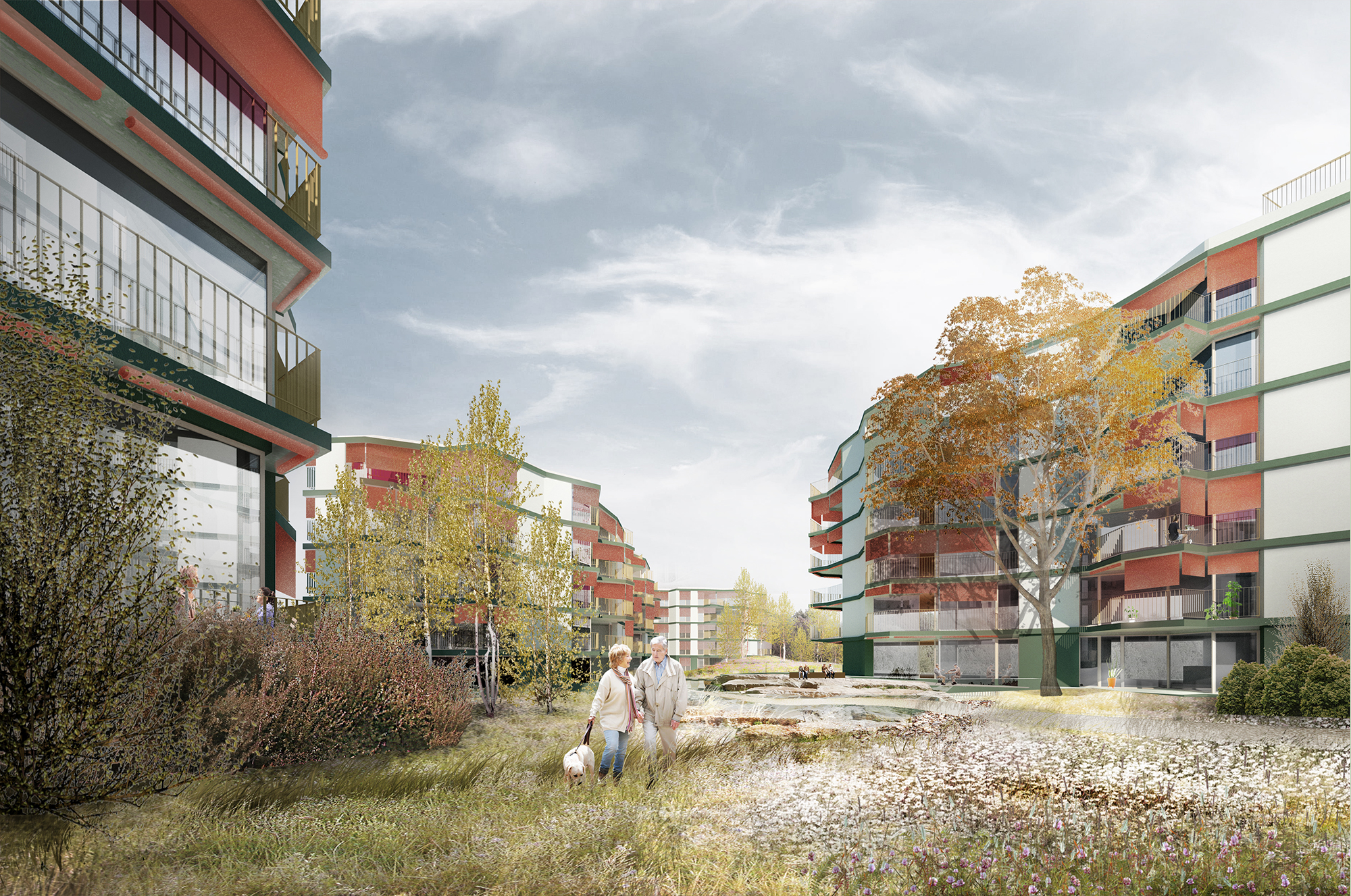 zurich elderly housing saw espenhof nord